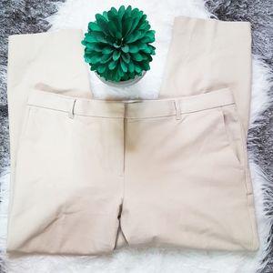 Ann Taylor Tan Khaki Pants Sz 14